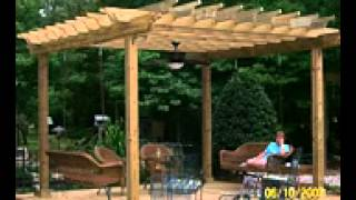 How To Build A Pergola & Sun Trellis
