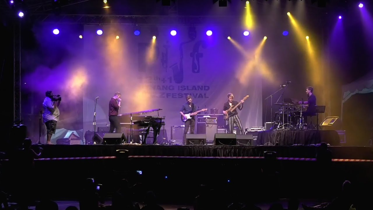 Mathias Heise Quadrillion - Highlights from Penang Island Jazz Festival 2016 - YouTube