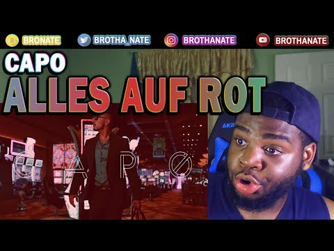 CAPO - Alles Auf Rot [Official HD Video] REACTION!!
