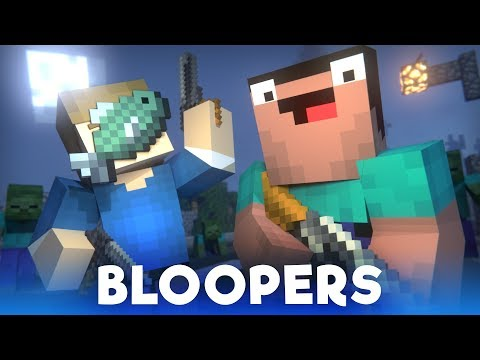 Blocking Dead: BLOOPERS (Minecraft Animation) [Hypixel]