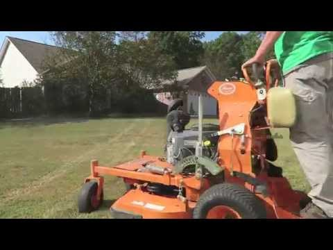 Lawn Care Vlog #13 Mowing with SCAG Vride, GIE Talk, and New Hats