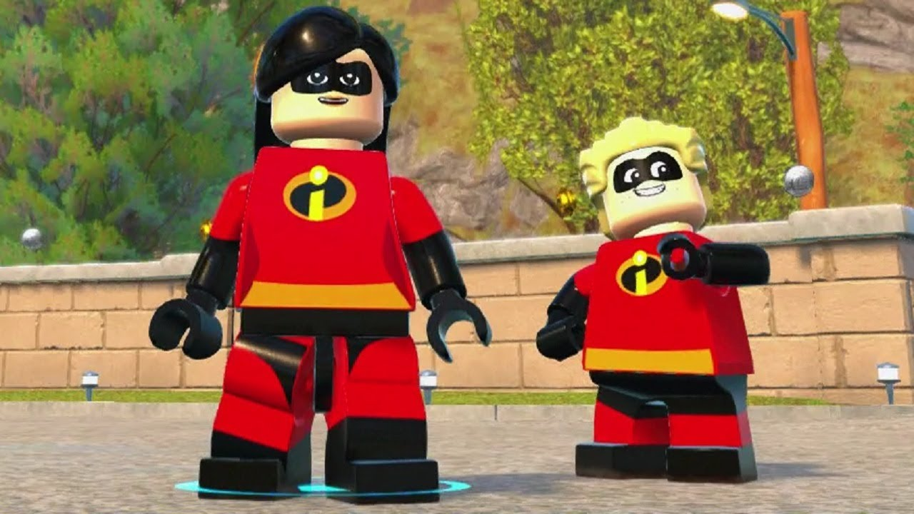LEGO The Incredibles - Open World Free Roam - Financial District Crime Wave Completed