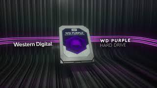 Disque Dur 1To WD Purple WD10PURZ vidéo