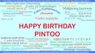 Pintoo   Languages Idiomas - Happy Birthday