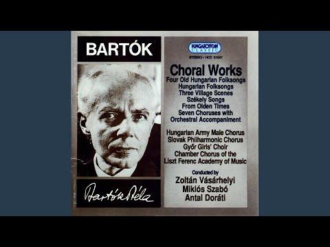 Seven Choruses with Orchestral Accompaniment Sz.103: c) Resteknek nótája