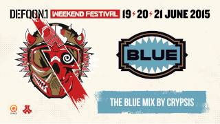 The colors of Defqon.1 2015 | BLUE mix by Crypsis