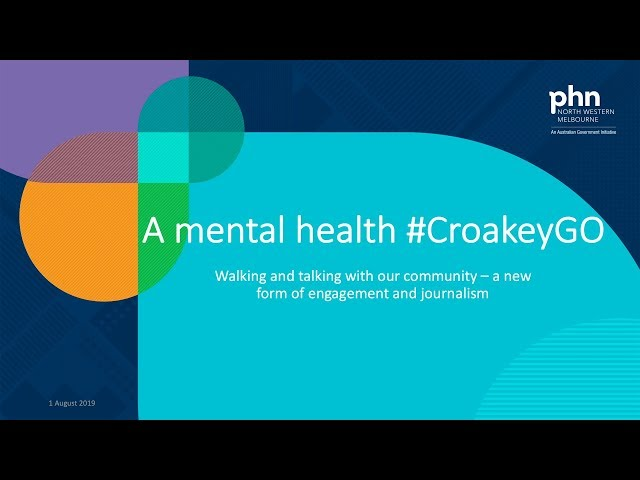 What is our mental health #CroakeyGO?
