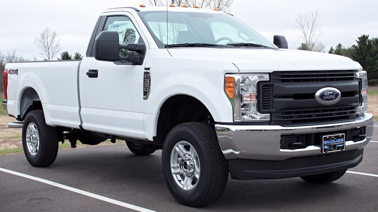 2017 Ford F 350 Super Duty Xl Regular Cab 6 2l V8 At Eau Claire Lincoln Quick Lane