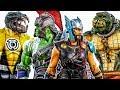Hulk Raknarok ft Thor Toys Feeding Children~! Monster Arrived, Let's Chase Them~ GO ! #Toymarvel