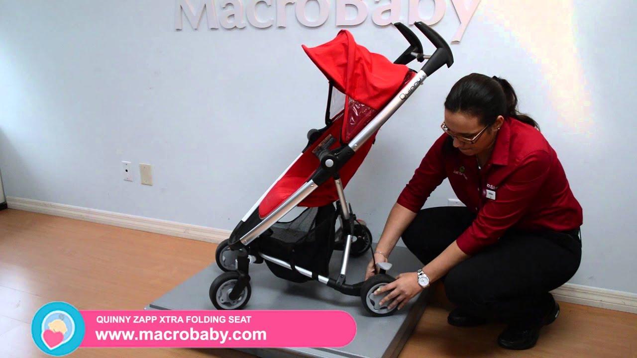 Macrobaby Quinny Zapp Xtra Folding Seat Stroller