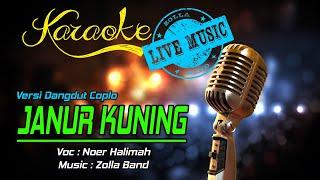 Karaoke JANUR KUNING - Noer Halimah  (Live Music)