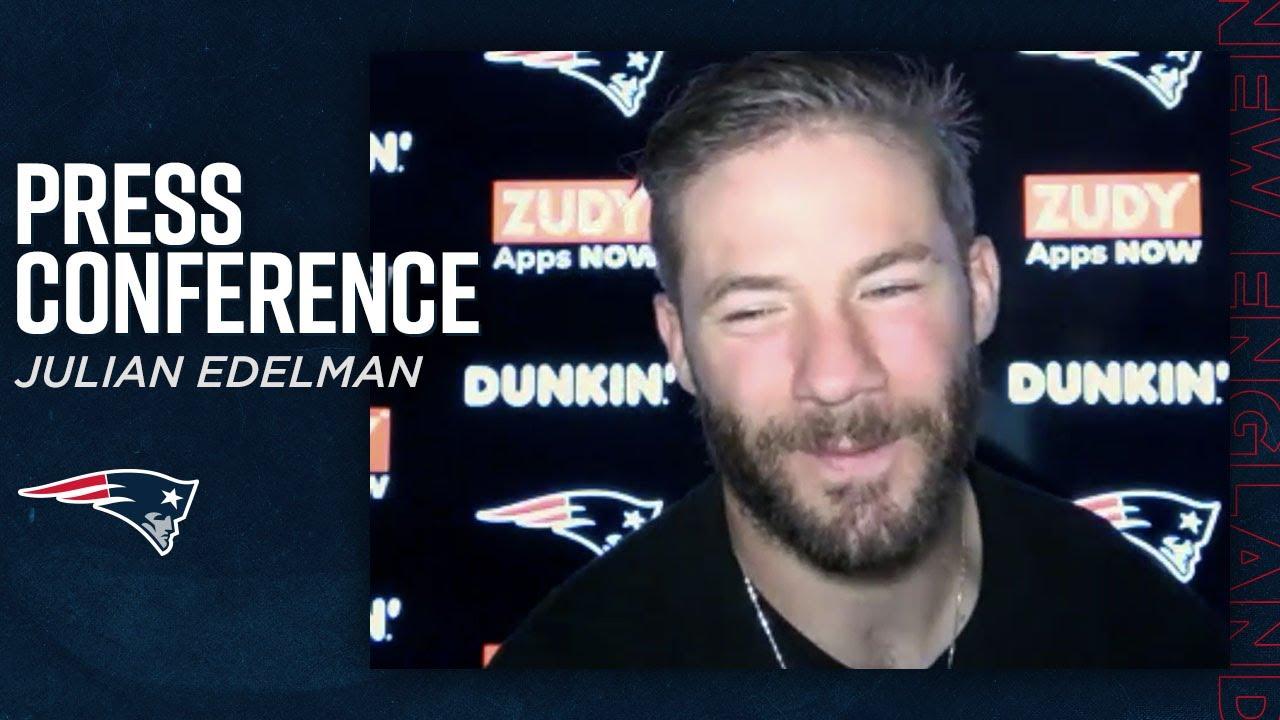Julian Edelman: Cam Newton Brings the Energy & Swag | Patriots Postgame Press Conference