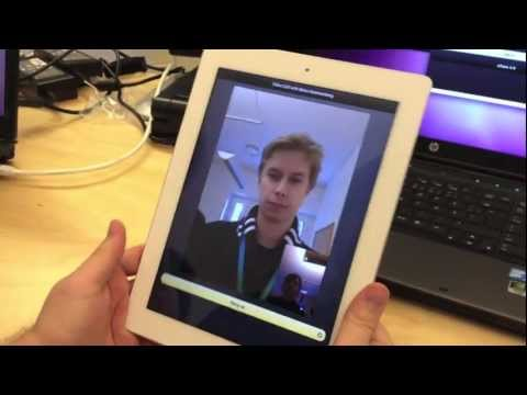 Experimenting with webRTC on iOS