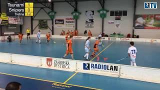 18. 3. 2017 BAMZ Tsunami Záhorská Bystrica - Snipers Bratislava Orange