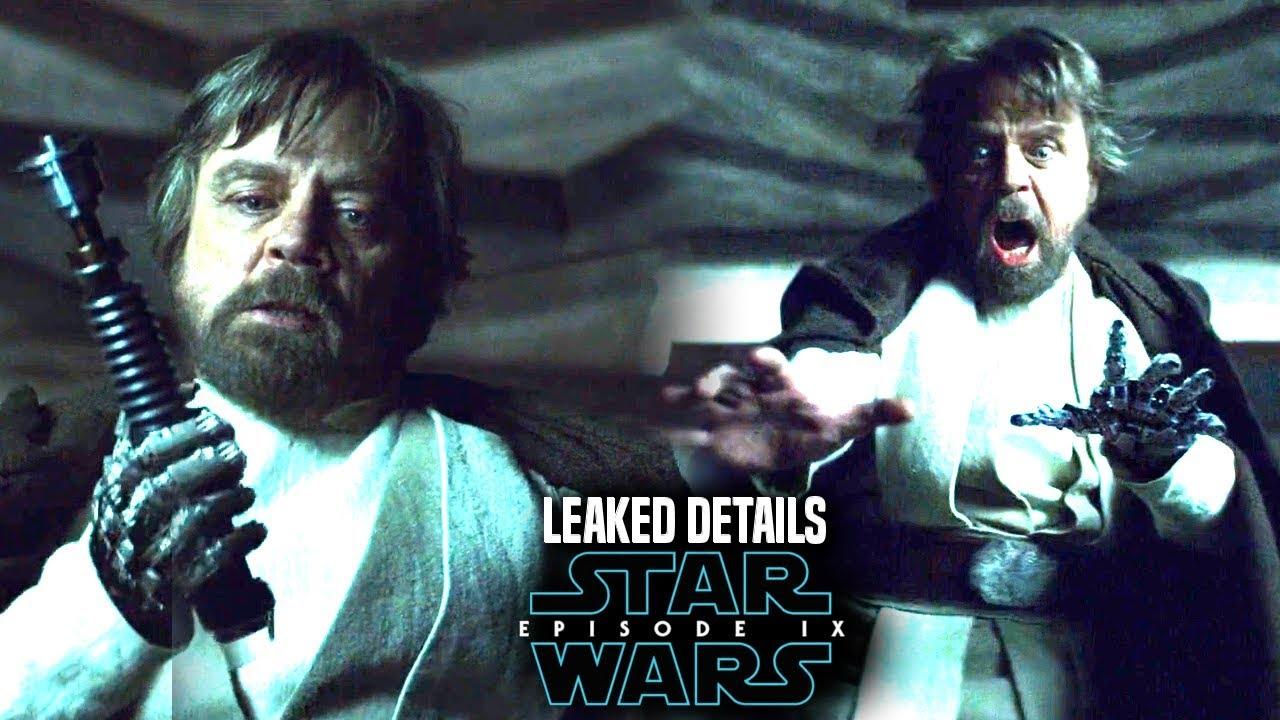 star wars leaked details of luke in episode 9 star wars news youtube. Black Bedroom Furniture Sets. Home Design Ideas