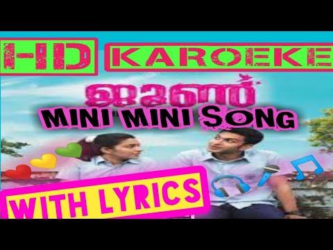 Mini Mini Junesong Hd Karoeke Youtube