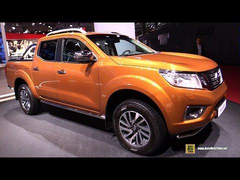 2017 Nissan Navara - Exterior and Interior Walkaround - 2016 Paris Motor Show