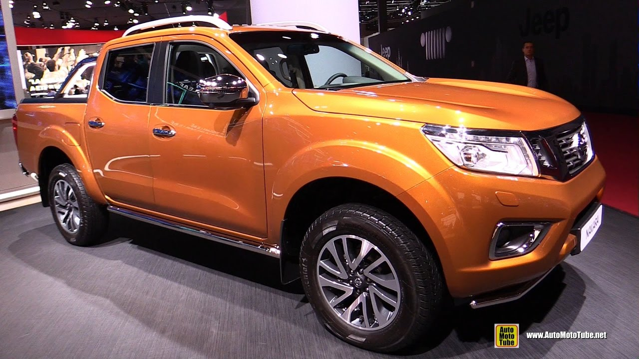 2017 nissan navara exterior and interior walkaround 2016 paris motor show youtube. Black Bedroom Furniture Sets. Home Design Ideas