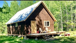 Setting Up Solar Power At Our Off Grid Cabin