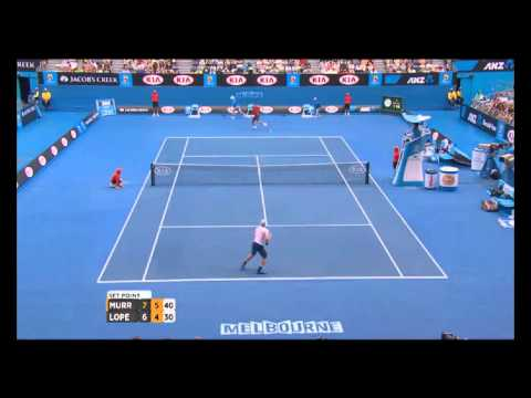 Australian Open Tennis Championships 2014 Highlights | Andy Murray and Feliciano Lopez