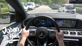 Mercedes GLE 300 d 4MATIC 245 hp POV TEST DRIVE