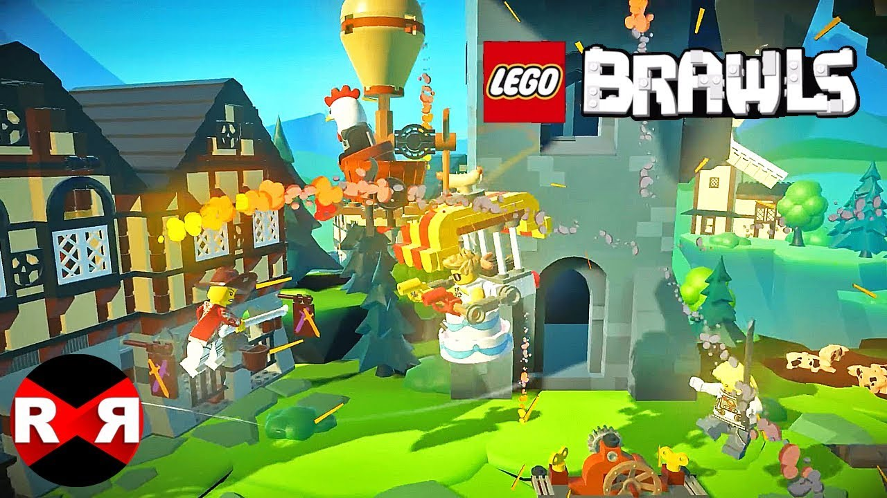 LEGO BRAWLS - iOS (Apple Arcade) Online Gameplay - YouTube