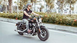 Đánh giá sơ bộ Harley Davidson Forty Eight (48) đời 2019 giá 470 triệu Hùng Lâm vừa tậu