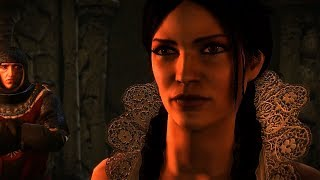 The Witcher 2 - Philippa Eilhart getting her Eyes gouged out!