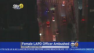 Man Taken Into Custody In LAPD Officer Ambush