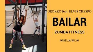 DEORRO BAILAR feat  ELVIS CRESPO / ZUMBA FITNESS / MERENGUE STEPS / ORNELLA SALVO
