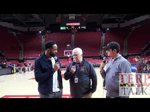 Dez Wells Postgame Maryland Basketball v Purdue 2019 02 12