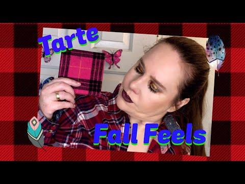 Tarte Fall Feels palette review!  Tutorial! thumbnail