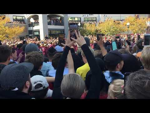 Kanye's Sunday Service Jesus Walks Freestyle | Salt Lake City, Utah