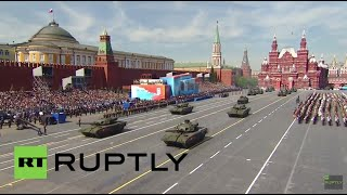 Russia: Brand-new Armata T-14 main battle tank debuts at Moscow