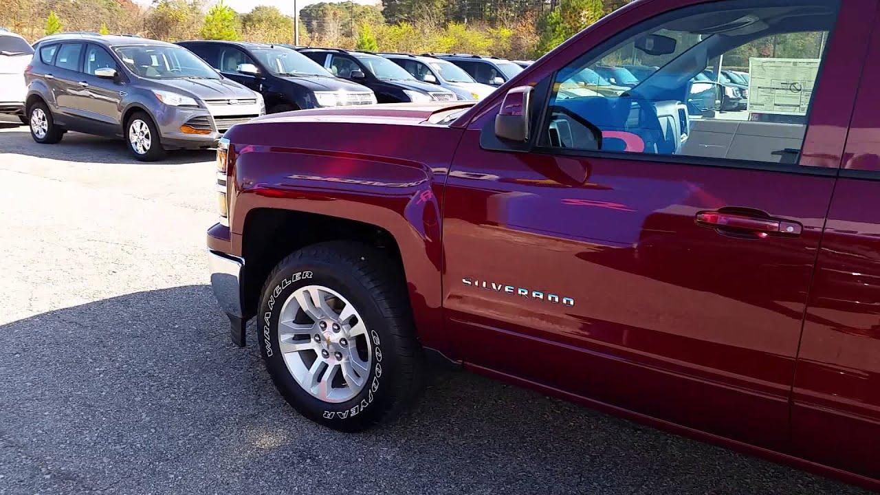 Jimmy Britt Chevrolet >> 2015 Chevrolet Silverado Ruby Red - YouTube