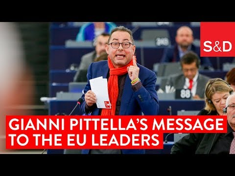 Gianni Pittella on Brexit and the upcoming European Council