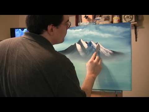 Painting with Bob Ross Videos – Ep7 Mountain Reflections