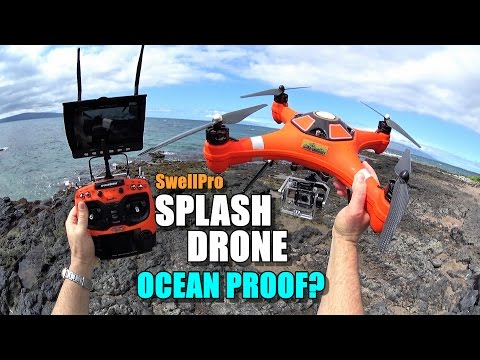 SwellPro Waterproof SPLASH DRONE Review - Part 3 - Ocean Proof?