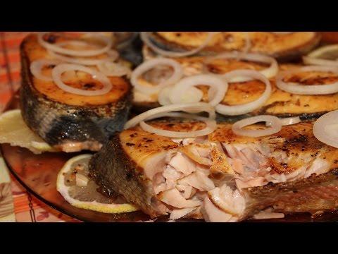 Жареные стейки горбуши от Рени за 10 минут