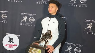 Justin Fields: Ohio State QB evaluates Heisman Trophy campaign