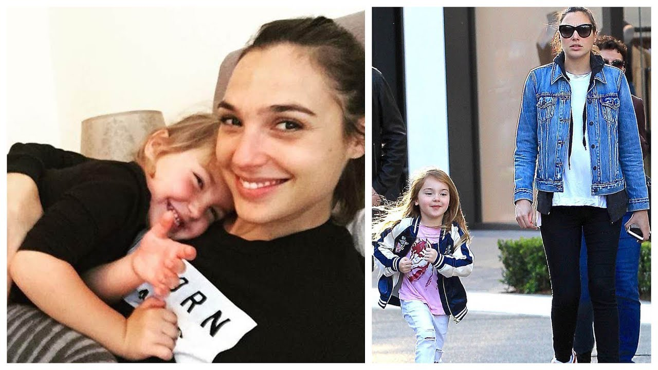 "Gal Gadot's (Wonder Woman) Daughter ""Alma Versano"" 2017 ..."