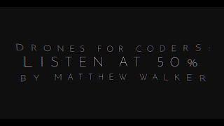 TECHNOCRACY feat. xeroxeroxero from the Album 'Drones for Coders : Listen at 50%' by Matthew Walker