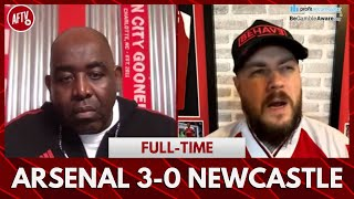 Arsenal 3-0 Newcastle | I Hope The Arteta Haters Give Him Credit Tonight! (DT)