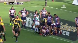 ROUND 2 HIGHLIGHTS: Hurricanes v Rebels
