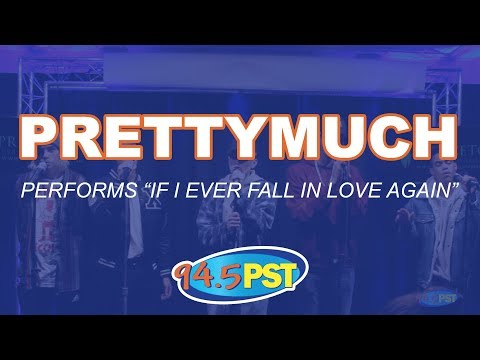 PRETTYMUCH performs If I Ever Fall In Love Again in the PST Princeton Plastic Surgeons Live Lounge