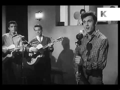 1950s Band in Recording Studio, Recording Session
