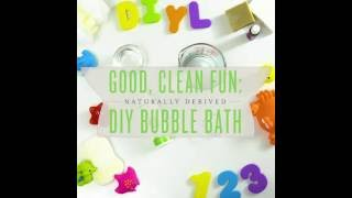 DIY Young Living Natural Bubble Bath | Young Living Essential Oils