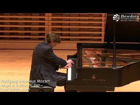 Mozart: Adagio in B Minor | Peter Serkin