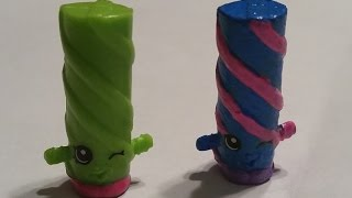 CUSTOM PAINTING SHOPKINS-MISS TWIST MAKEOVER