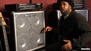 Victor Wooten Playing And Talking About The Hartke Hydrive 410 Bass Cabinet